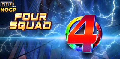 4squad Video Slot Logo 810x
