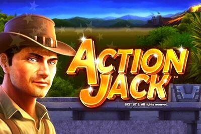 Action Jack Video Slot Logo