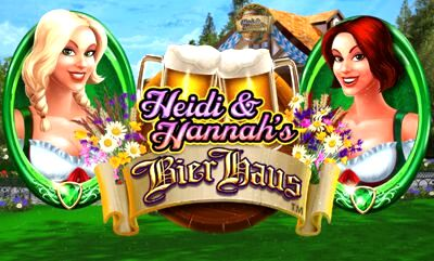 Top Slot Game of the Month: Heidi and Hannahs Bier Haus Slot