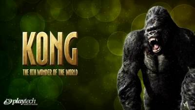 Top Slot Game of the Month: King Kong Slot Logo