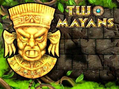 Top Slot Game of the Month: Two Mayans Slot Logo
