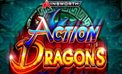 Top Slot Game of the Month: Action Dragons Title Logo 2 Ainsworth