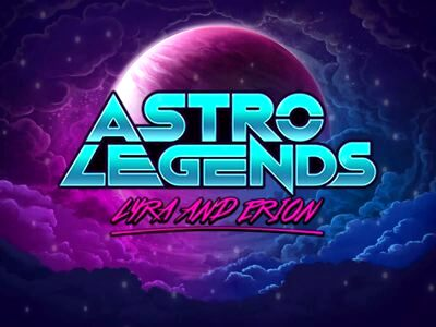 Astro Legends Microgaming Slot Logo