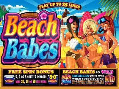Beach Babes Microgaming