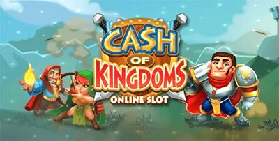 Top Slot Game of the Month: Cash of Kingdoms Online Slot Machine Logo 590x