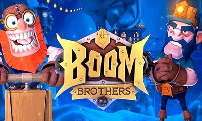 Logo Boom Brothers Slot
