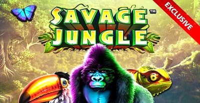 Savage Jungle Slot Promo