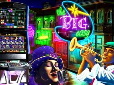 Top Slot Game of the Month: The Big Easy Slot Spielo 720x