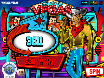 Top Slot Game of the Month: Vintage Vegas Slot