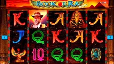 Book of Ra Slots Machine