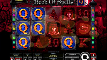 Book of Spells Slots