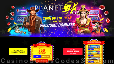 Planet 7 Oz Bonus Codes