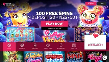 Ruby Fortune Casino Canada Review