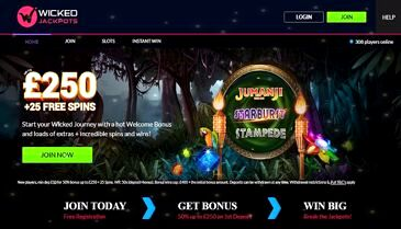 Wicked Jackpots Mobile