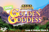 Megajackpots Golden Goddess