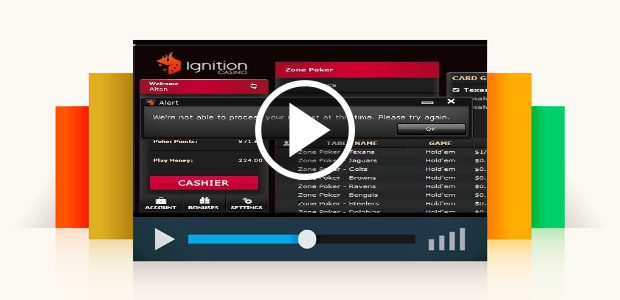 I'm Done with Ignition Casino Poker!