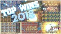 Greatest Slot Wins Highlights of 2018 from Fruity Slots!