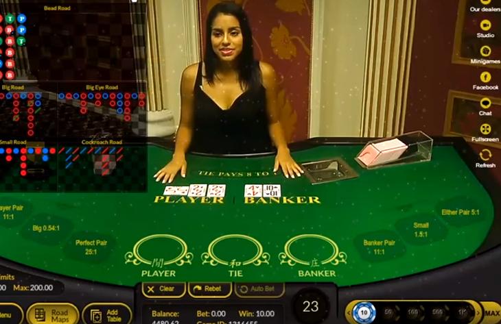 Best Live Dealer Baccarat Grand Blackjack Live Dealer Site