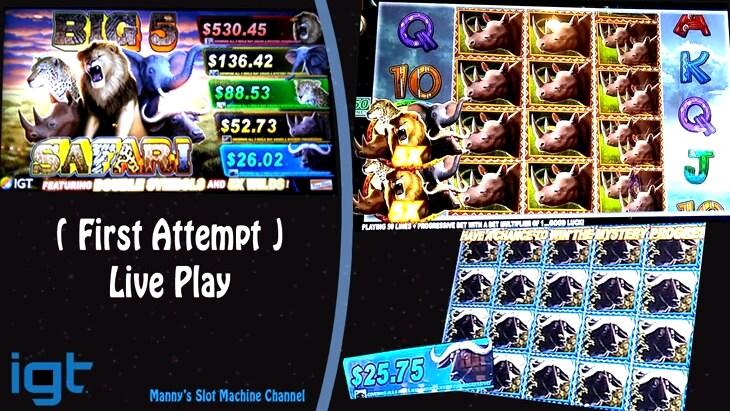Big 5 Safari Slot Machine