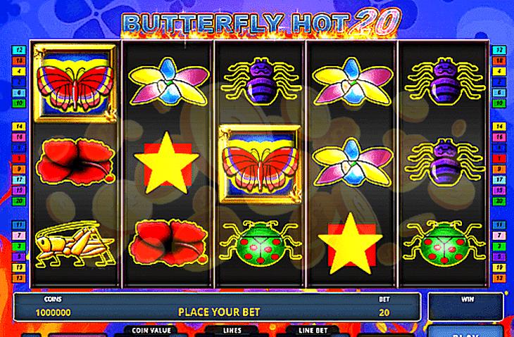 Butterfly Hot 10 Slot Machine