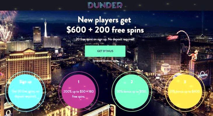 Dunder Casino Canada Review