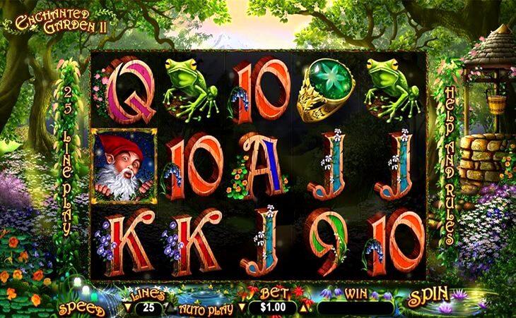 Free Slot Machine Enchanted Garden