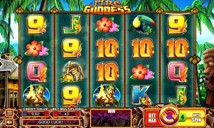 Fire Goddess Slot Machine