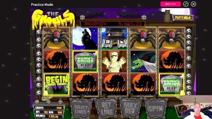 Ghouls Gold Slot Machine