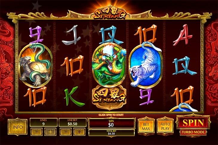 Si Xiang Slot Machine