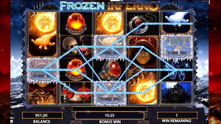 Frozen Inferno Slot Machine
