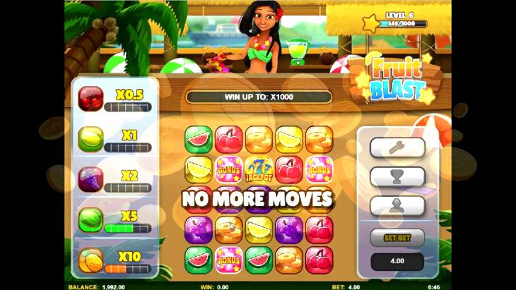 Fruit Blast Slot Machine