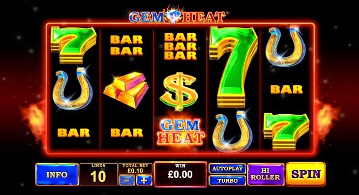 Gem Heat Slot Machine