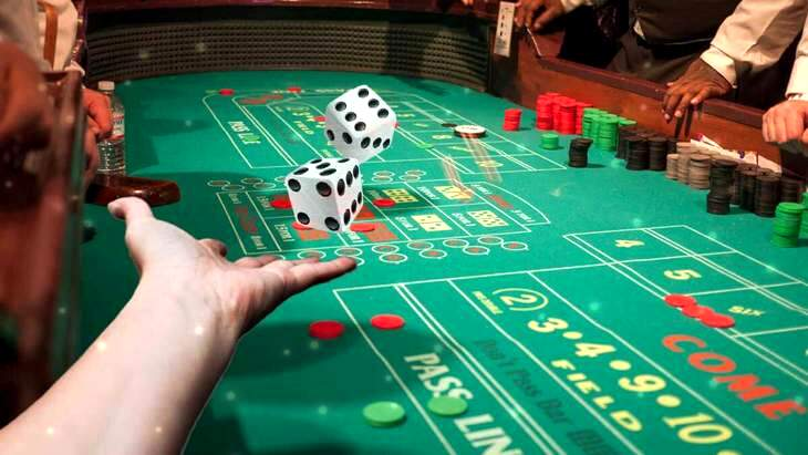 golden touch craps betting behind