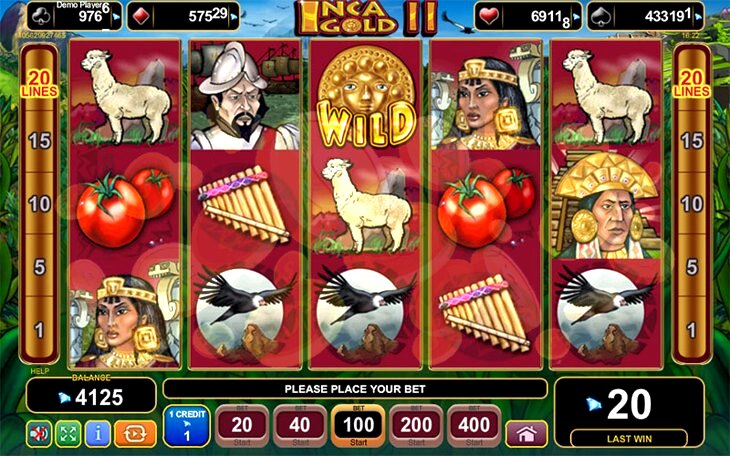 Inca Gold Slot Machine