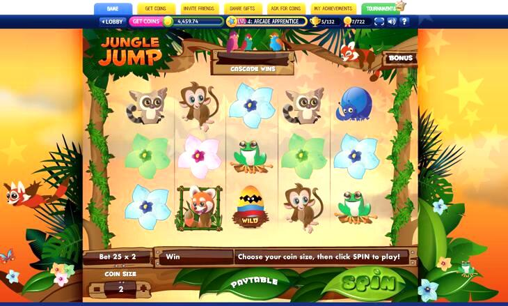 Jungle Jump Slot Machine