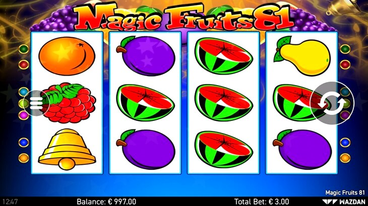 Magic Fruits 81 Slot Machine