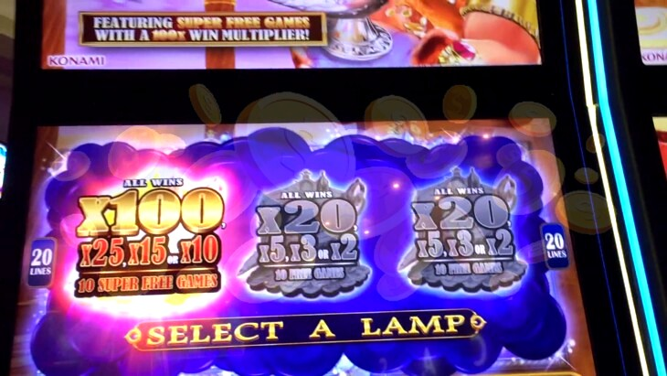 Magic Lamp HD slot machine with no download