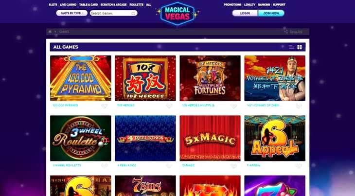 Magic Casino Bonus Code