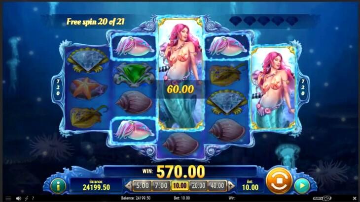Mermaids Diamond Slot Machine