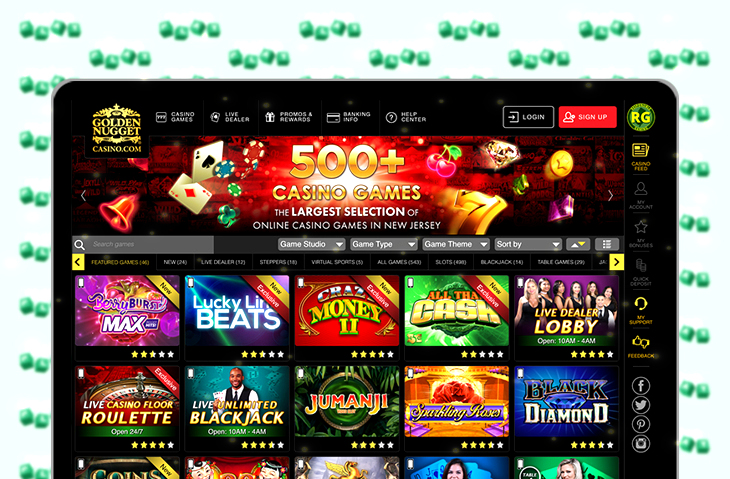 Nj Golden Nugget Casino Online