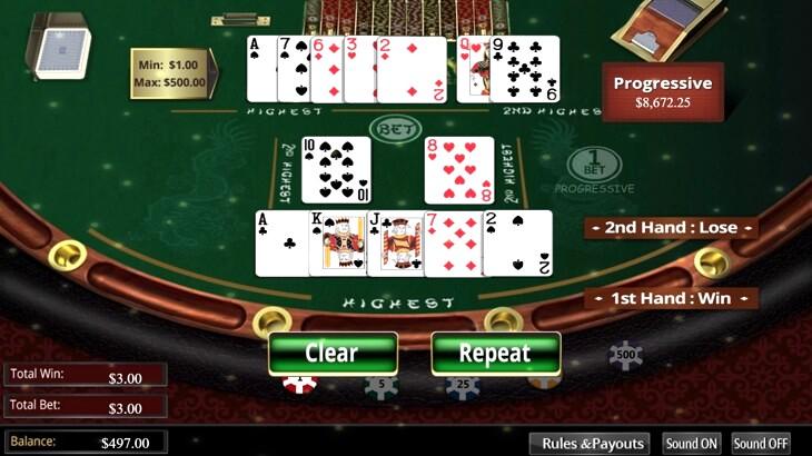 Pai Gow Bonus Poker Free