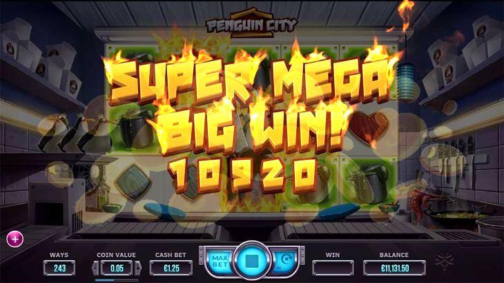 Penguin City Slot Machine