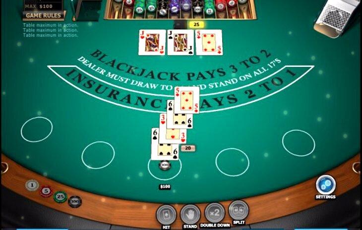 Playing Blackjack In Vegas