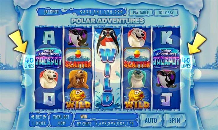 Polar Adventure Slot Machine