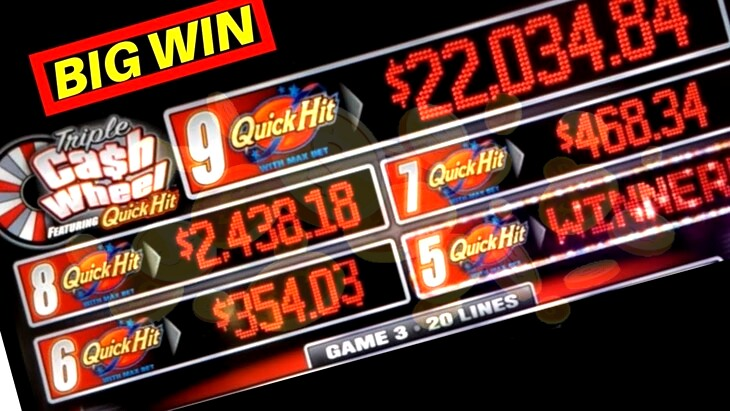 Quick Hit Cash Wheel Slots