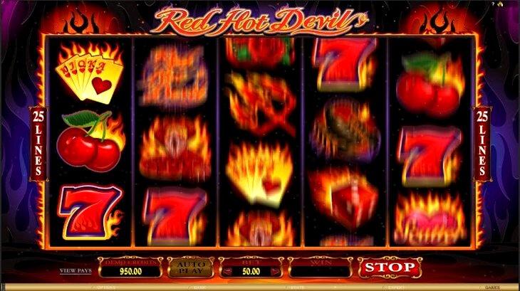 Red Hot Devil Slot Machine