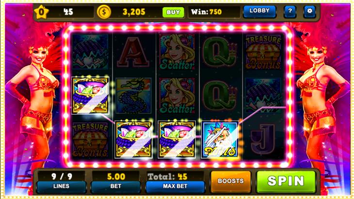 Secrets Of Poseidon Slot Machine
