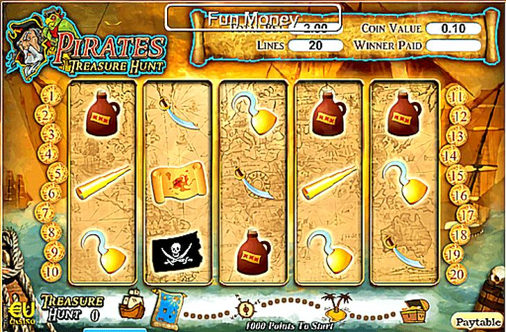 Pirates Treasure Hunt Slot Machine