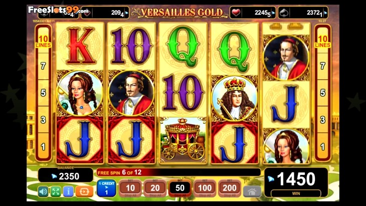Versailles gold slot free online casino games
