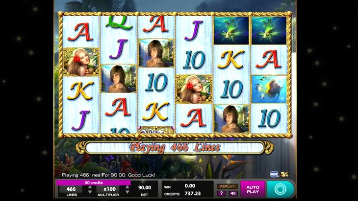 White Falls Slot Machine